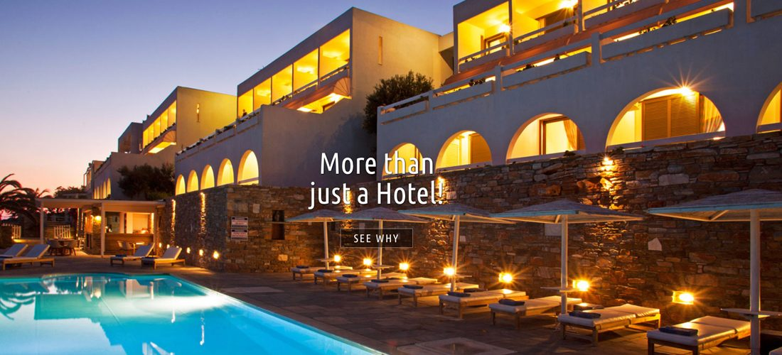 The new website of our hotel in Andros