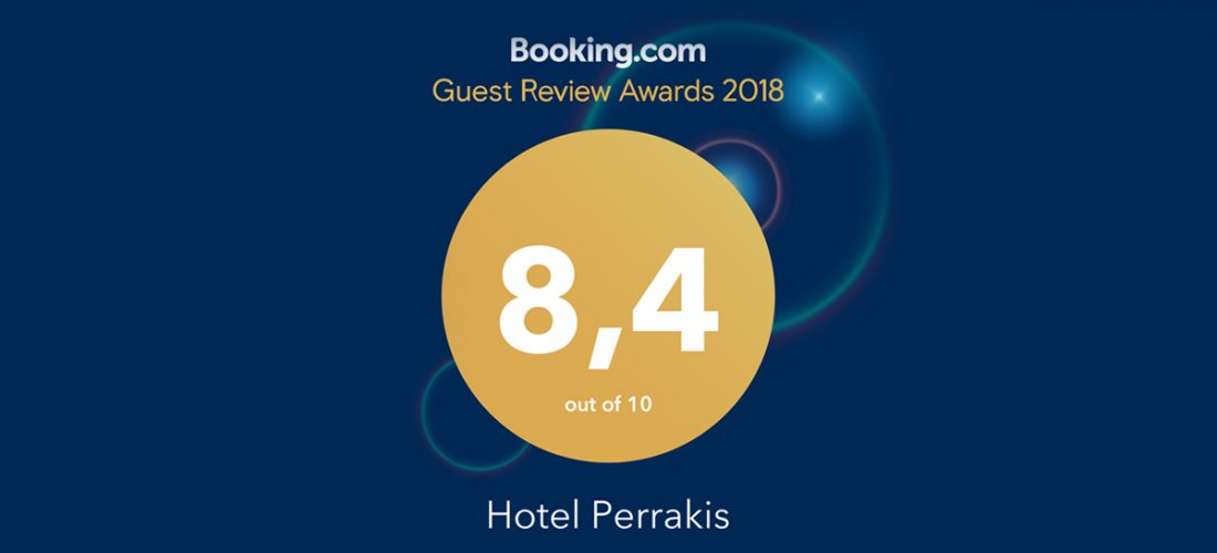 Guest Review Award 2018 by Booking.com