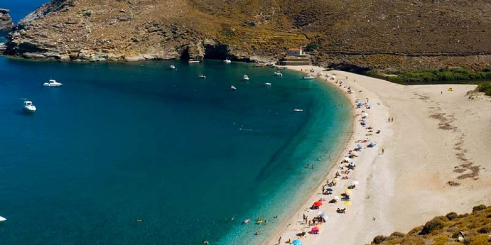 Top reasons to visit Andros Island – Part 1 – Achla Beach