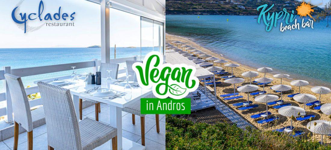 Vegan in Andros Island