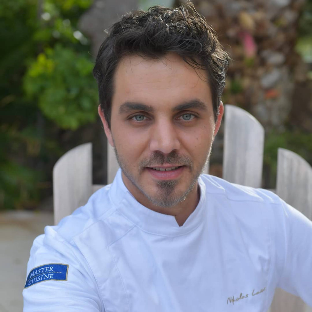 Our chef Nicolas Laios