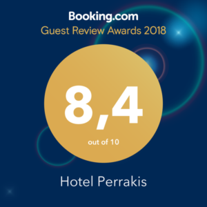 Guest Review Award 2018 από την Booking.com